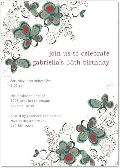 Wording of invitations archives happyinvitation invitation world plant birthday card stopboris Choice Image