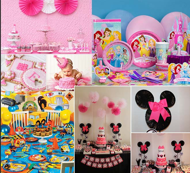 Ideas for Creating A Joyous 1st Birthday Party Happyinvitationcom