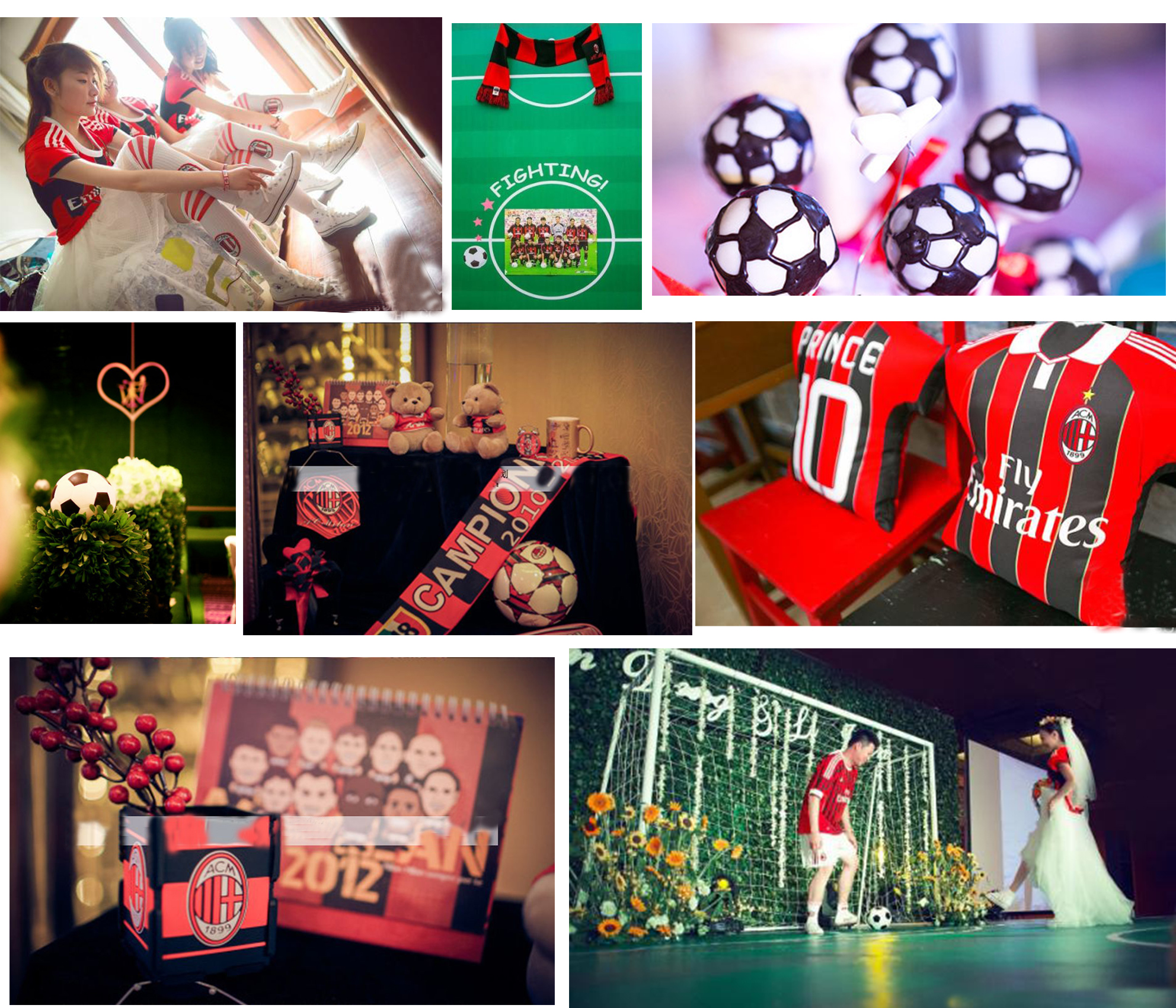 Football Themed Wedding Party - Happyinvitation.com Invitation World