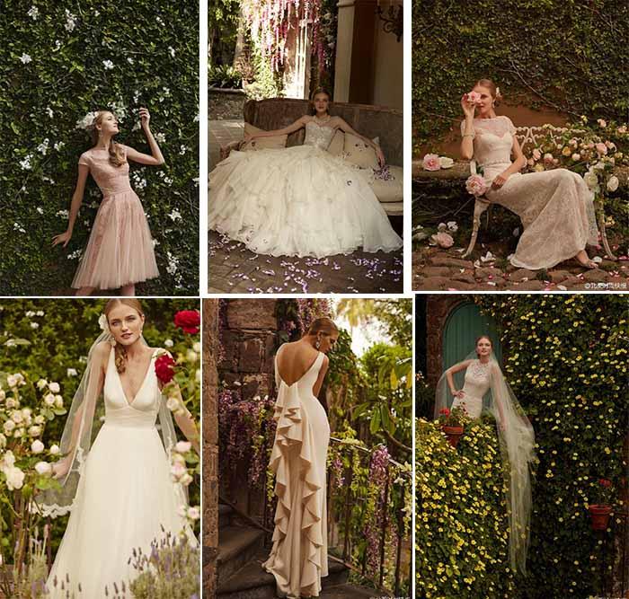 BHLDN'S beautiful meet in the garden wedding dresses