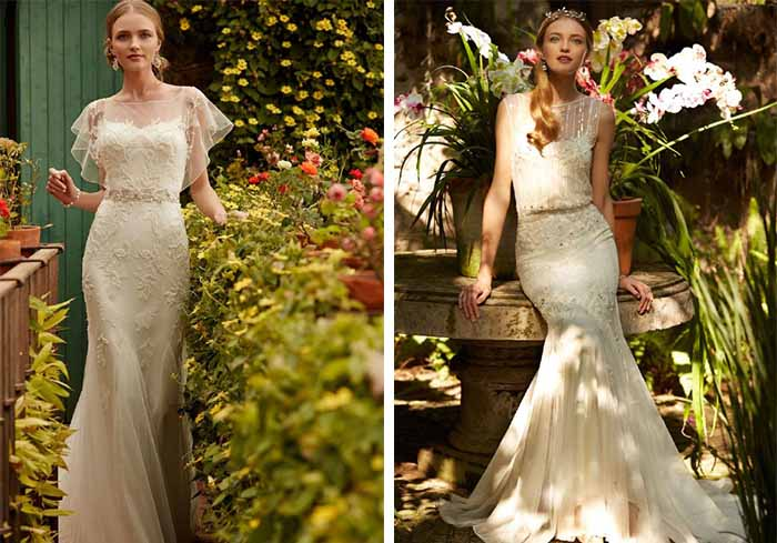 BHLDN's spring meet me in the garden wedding dresses collection
