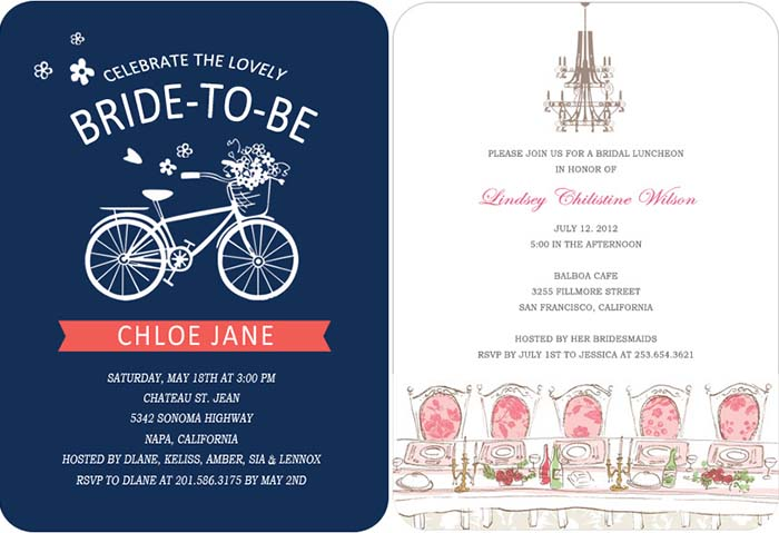 Top tips of bridal shower invitations happyinvitation bridal shower invitations inspired by wedding party filmwisefo