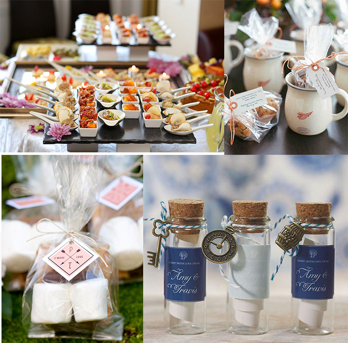 DIY small wedding favors