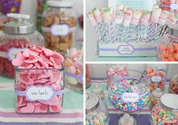 Pastel Wedding Cakes And Deserts Desert