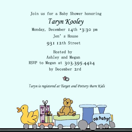 toy invitation for boy baby shower