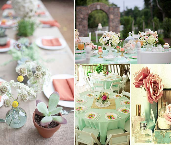 Mint Wedding Ideas: Tips Of Themed Wedding- Mint Green Wedding Party