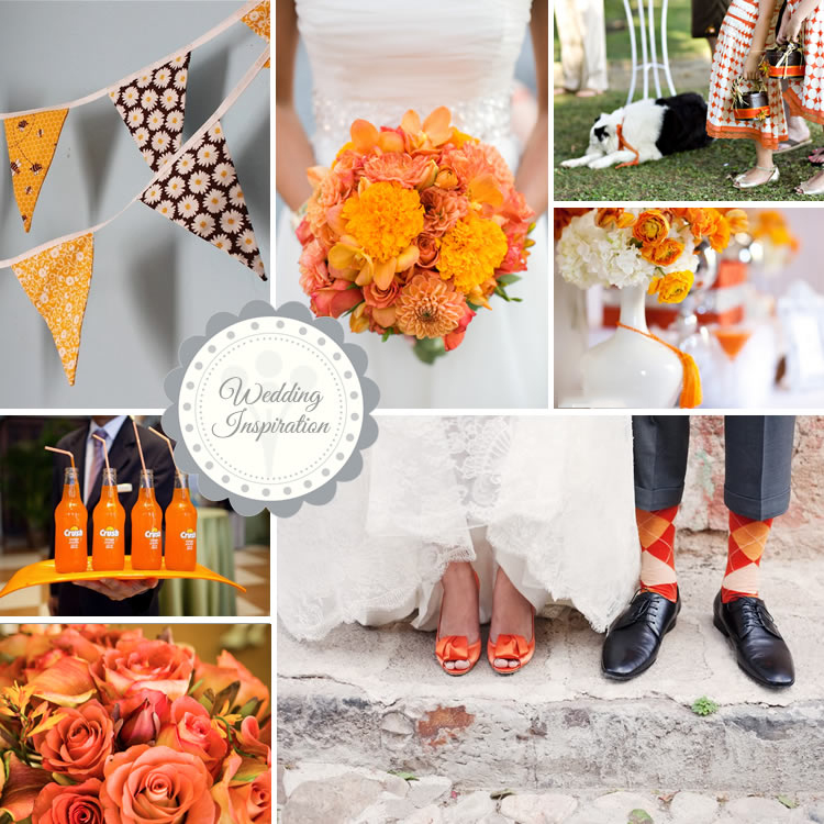 Wedding Ideas And Inspirations: TRENDING ORANGE WEDDING COLOR IDEAS FOR FALL 2014
