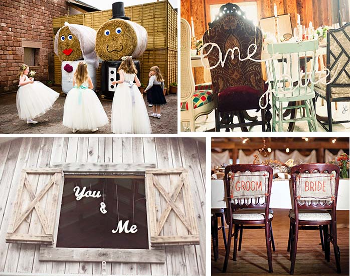 Whimsical Bride & Groom sign