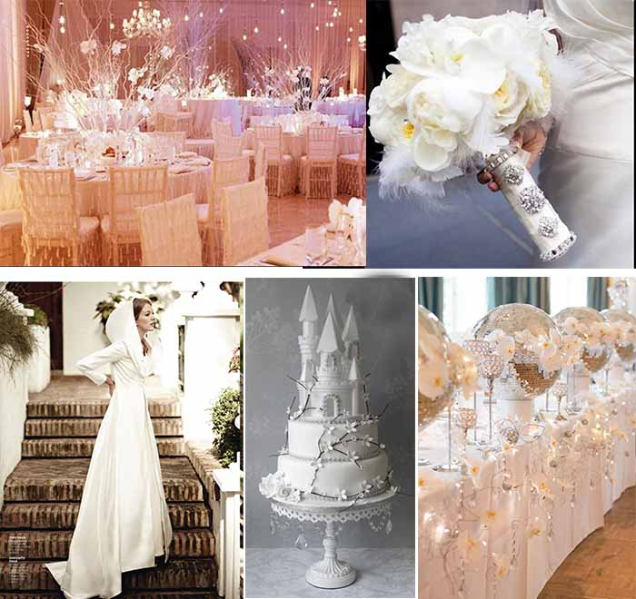 All white wedding archives for All white wedding theme pictures