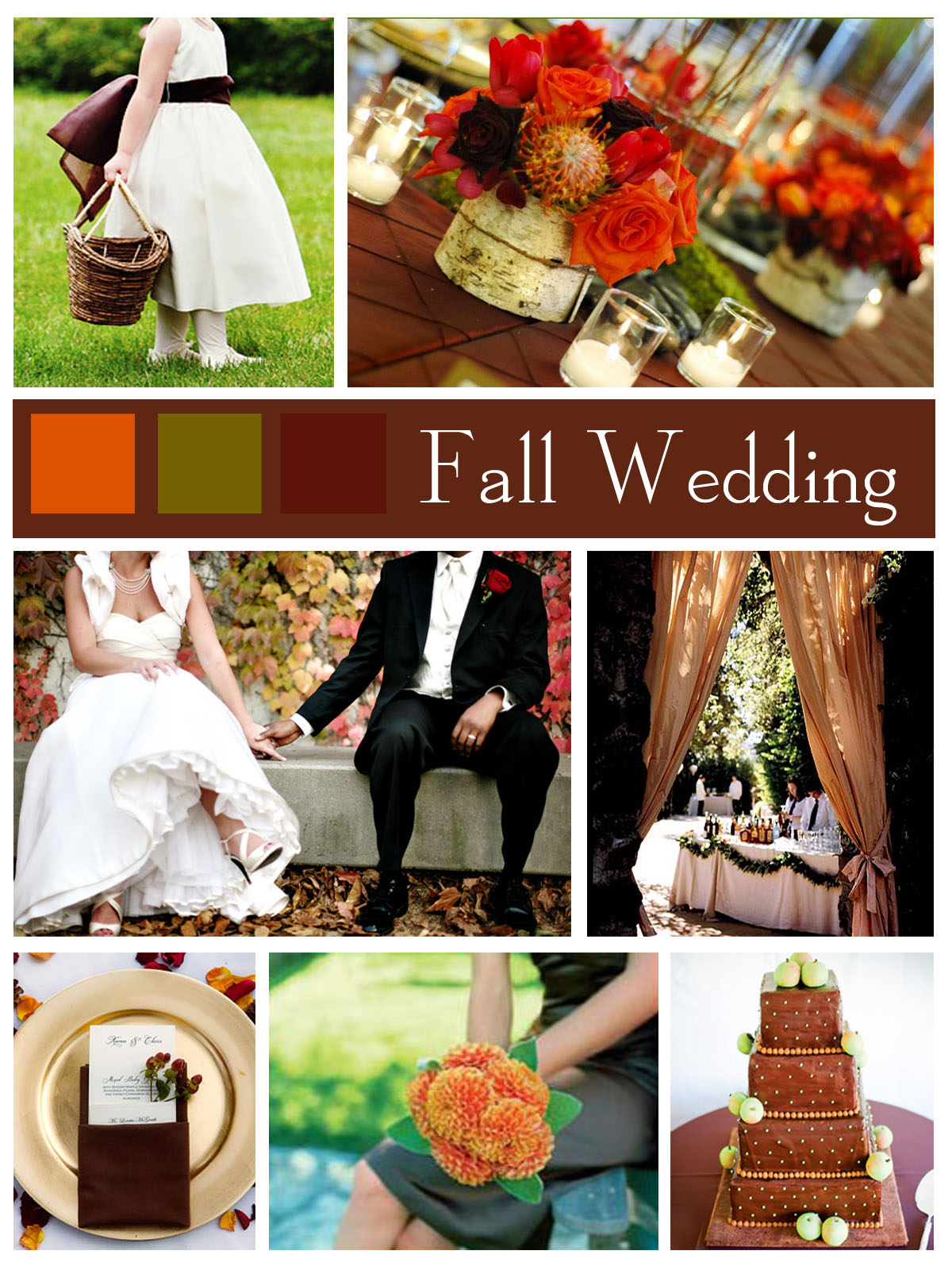 Planning Fall Themed Wedding - Happyinvitation.com ...
