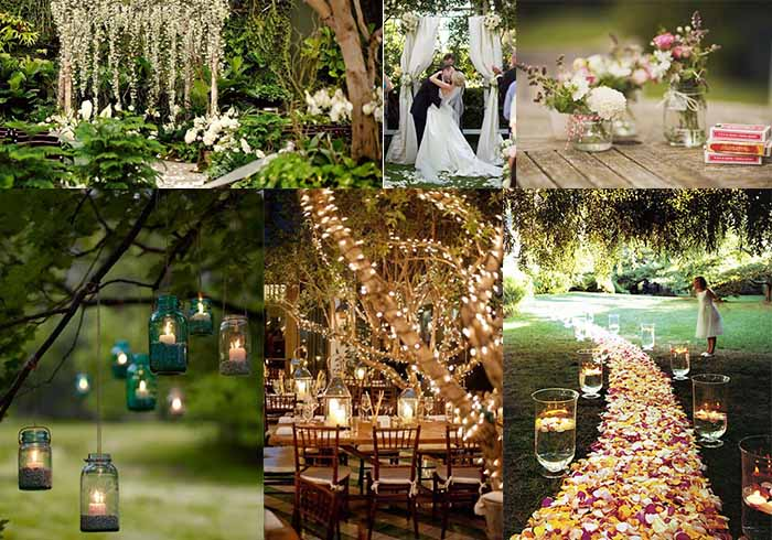 2015 wedding ideas for backyard wedding party for Backyard engagement party decoration ideas