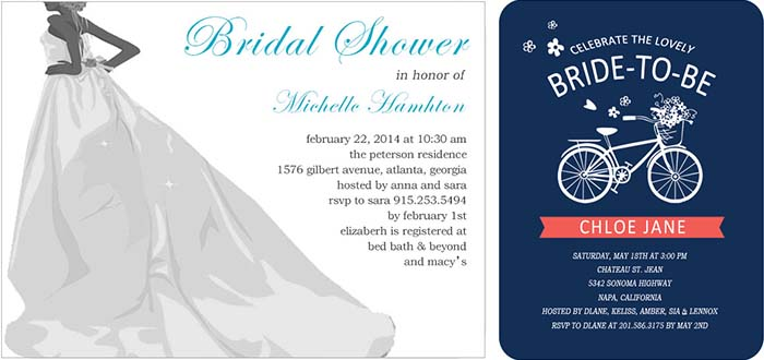 Tips of Sending Bridal Shower Invitations Out Happyinvitation