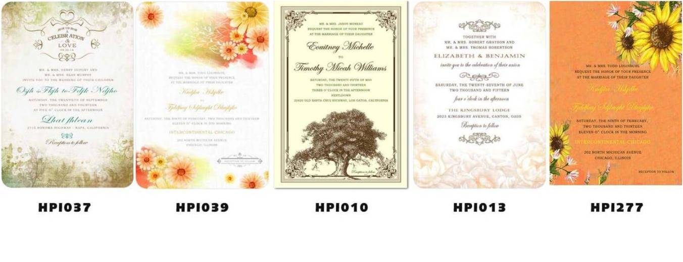 cheap wedding invitations for budget wedding