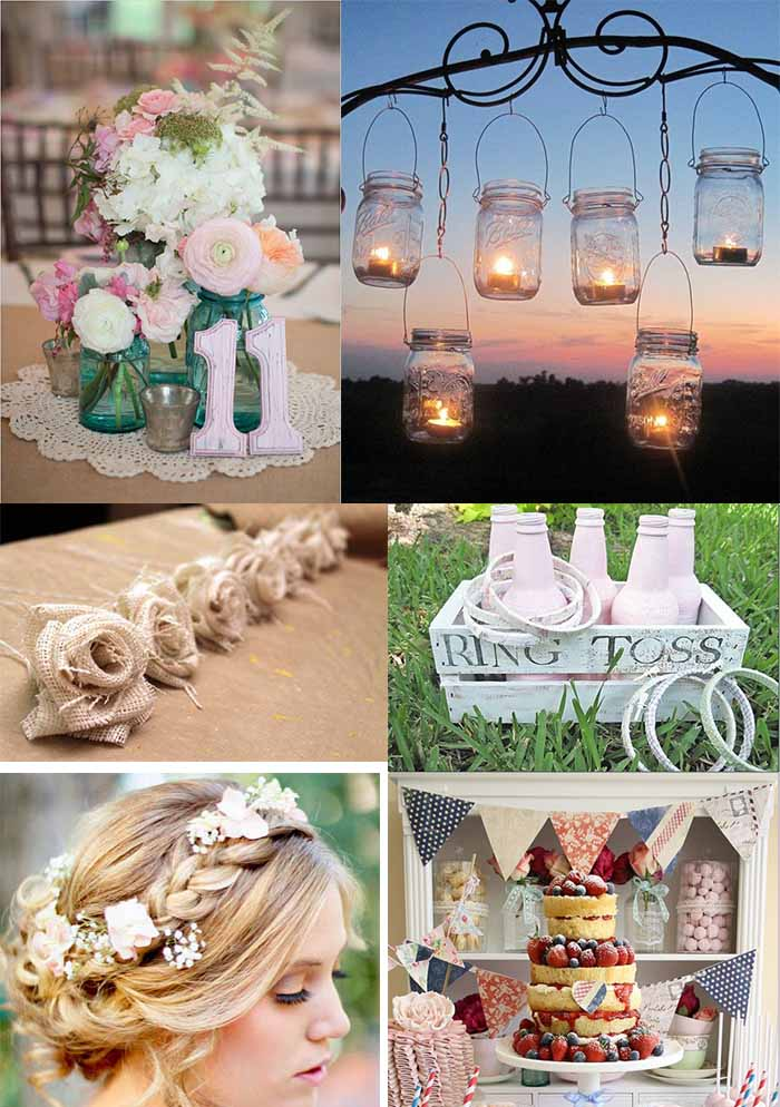 chic details of wedding