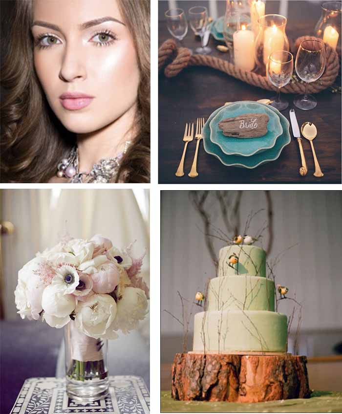 chic themed wedding