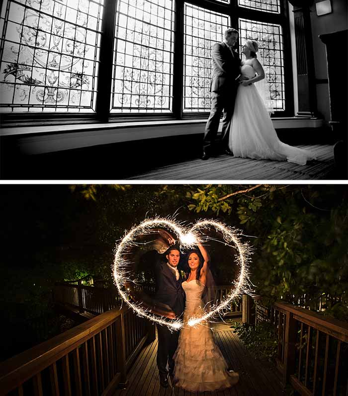 chic wedding photography