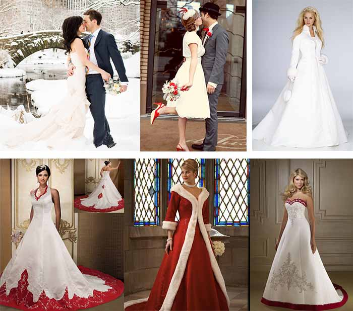 2014 2015 winter wedding inspiration christmas wedding for Dresses to wear to a christmas wedding