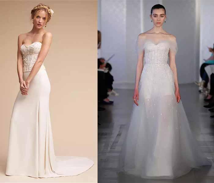 coeselet style wedding dresses 2017
