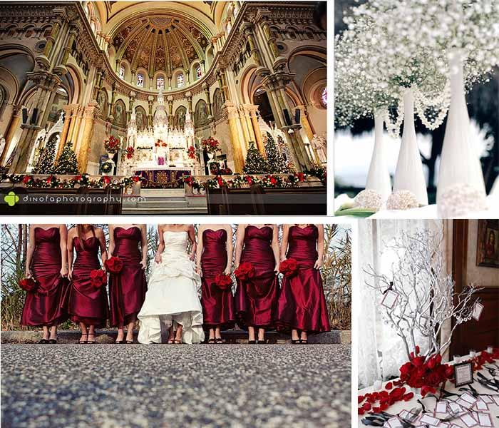 Winter Wedding Colors: Top 10 Ideas For 2014 Winter Wedding
