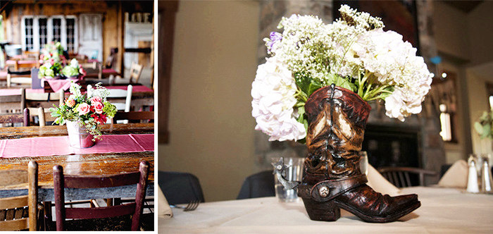 creative rustic wedding centerpieces