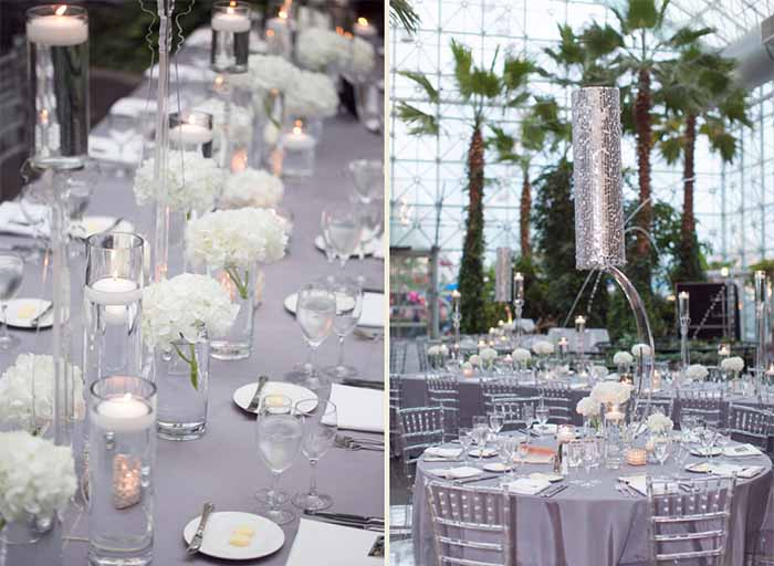 crystal grey winter wedding