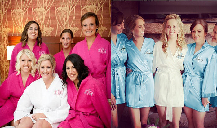 custom Robe for bride and bridesmaids