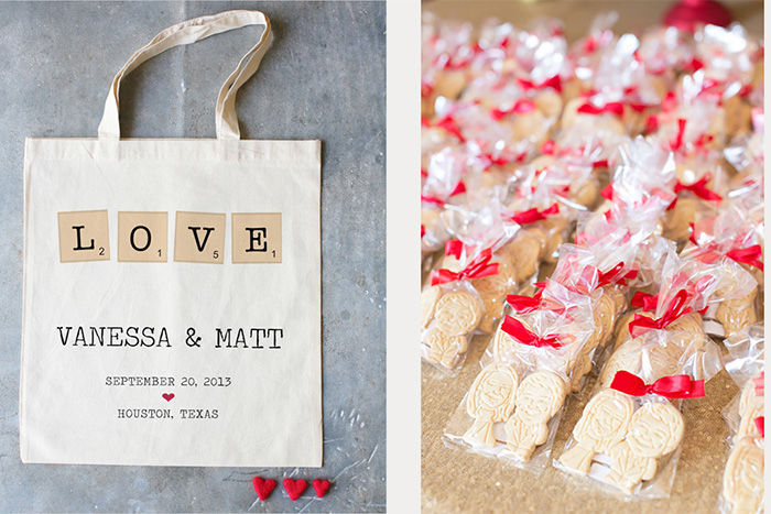 custom wedding favors with special bags