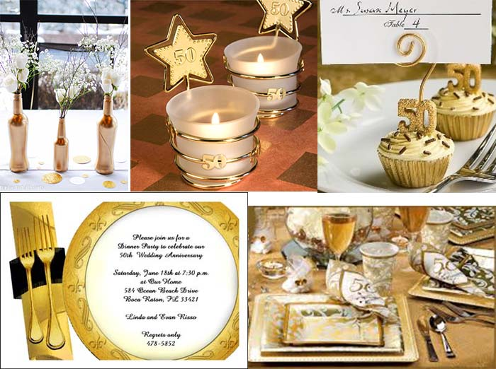 50th Wedding Anniversary Party Ideas Hyinvitationcom