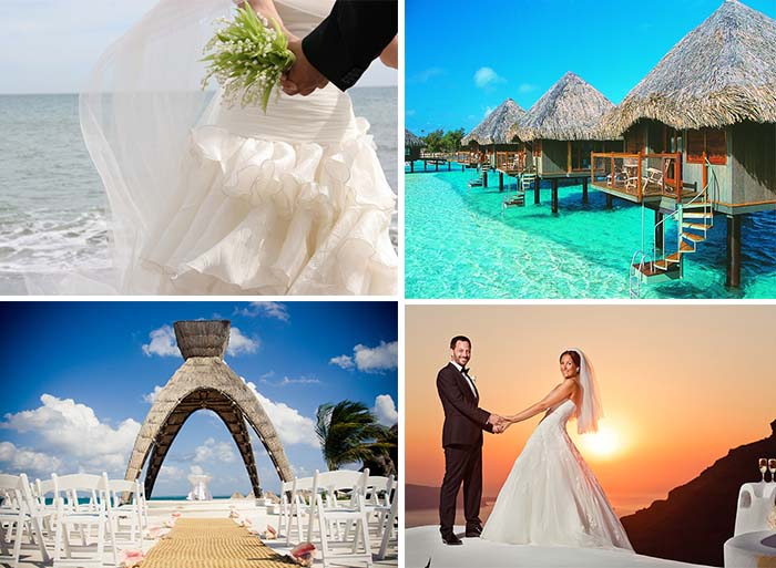 destinations for wedding
