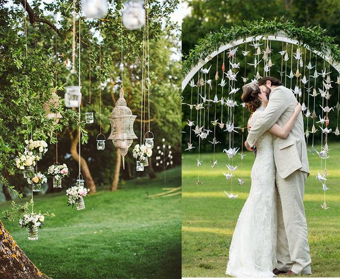 diy small wedding decoration