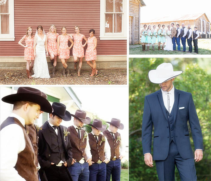 dress up for rustic wedding