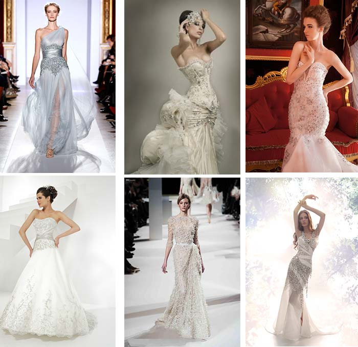 fancy crystal wedding dresses