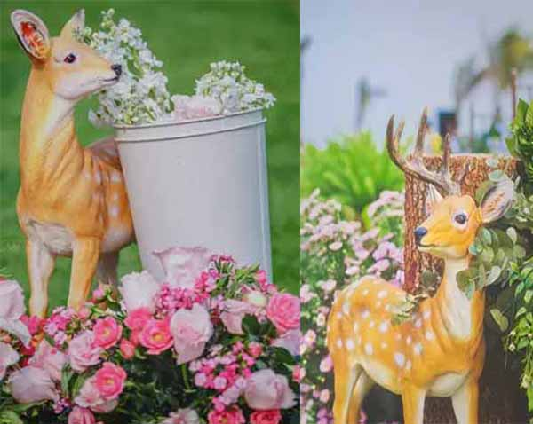 fawn-and-forest-wedding-decoration
