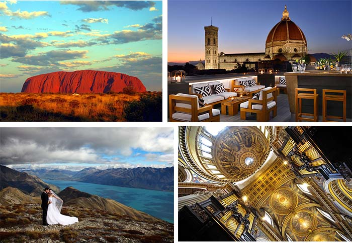 gorgeous destinations for wedding in the world