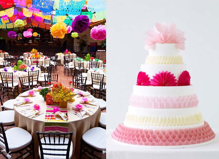 happy and memorable colorful wedding