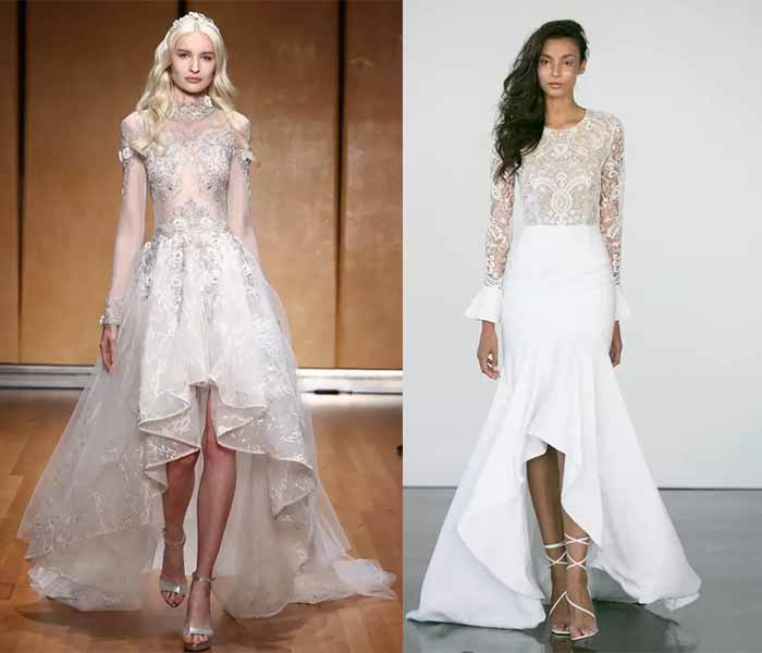 high low wedding dresses 2017