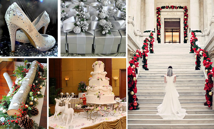Inspiration Of Christmas Wedding