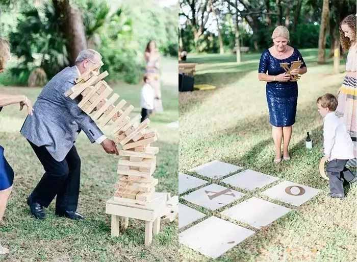 interesting wedding games