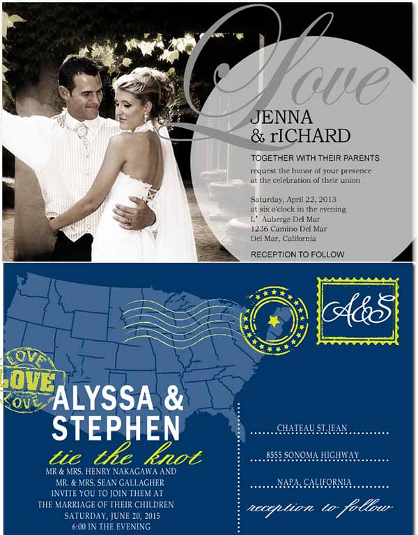 interesting wedding invitations