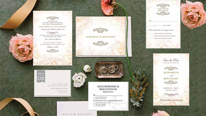 invitations for wedding party