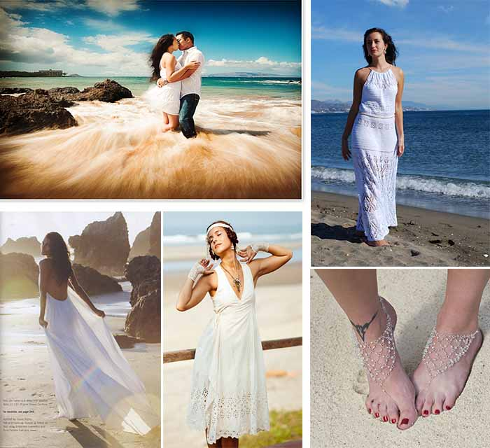 Lightweight Dresses For Beach Wedding Party