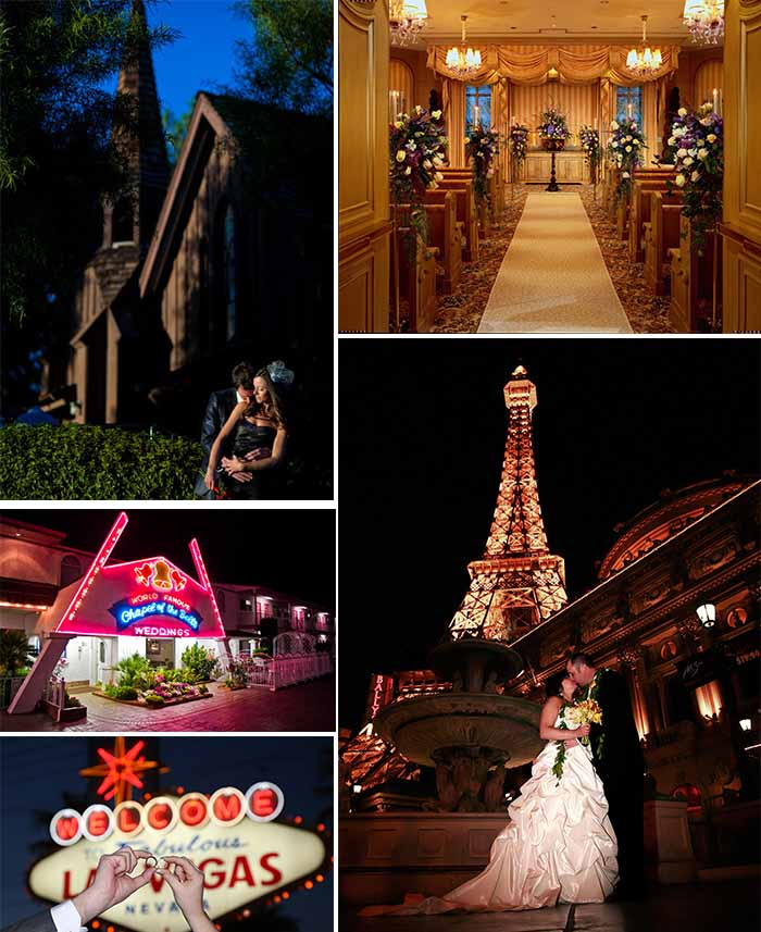 Little Wedding Chapel And Hotel At Las Vegas