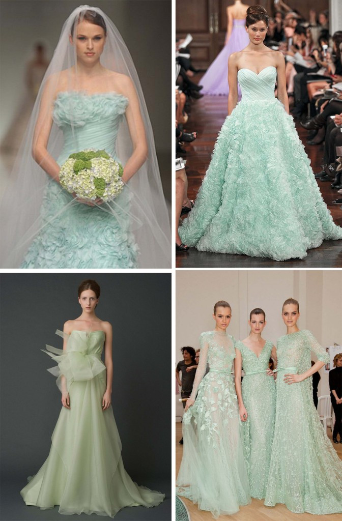 Tips of Themed Wedding Mint Green Wedding Party