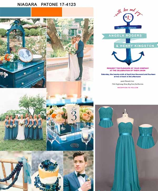 niagara wedding color inspirations