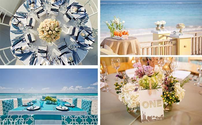 reception decoration for destination wedding
