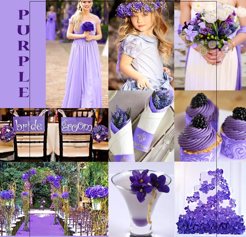 2013 winter wedding color trends happyinvitation invitation shades of purple wedding color junglespirit Gallery