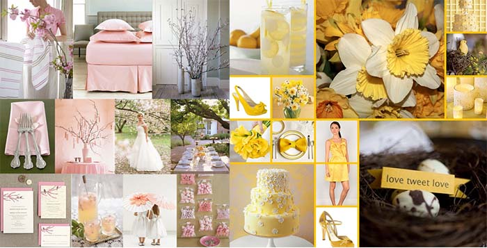 Best wedding color schemes spring contemporary styles ideas 2018 good ideas for 2014 spring wedding party happyinvitation com junglespirit Choice Image