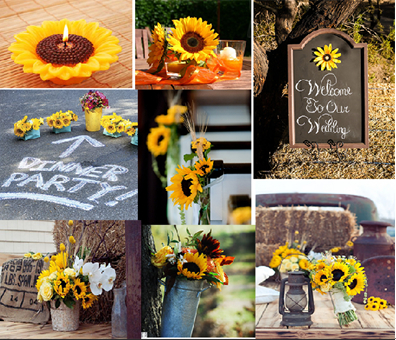 Captivating Sunflower Wedding Decorations