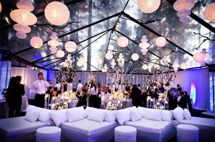 Transpa Tent For Night Starry Wedding