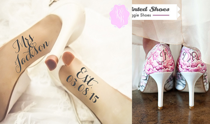 unique wedding shoes